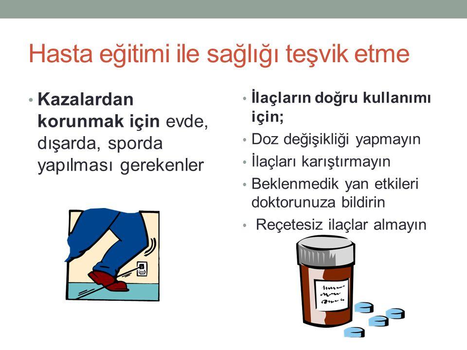 Hasta eğitimi ile sağlığı teşvik etme