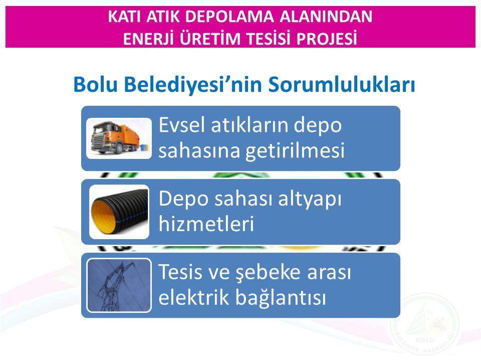Bolu Belediyesi'nin Sorumlulukları
