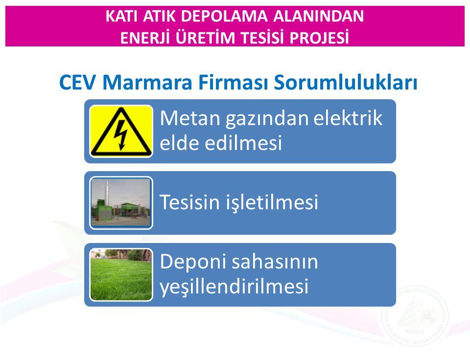 CEV Marmara Firması Sorumlulukları