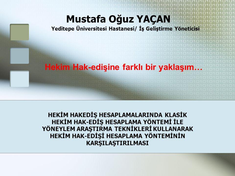 Yeditepe Üniversitesi Hastanesi/ İş Geliştirme Yöneticisi