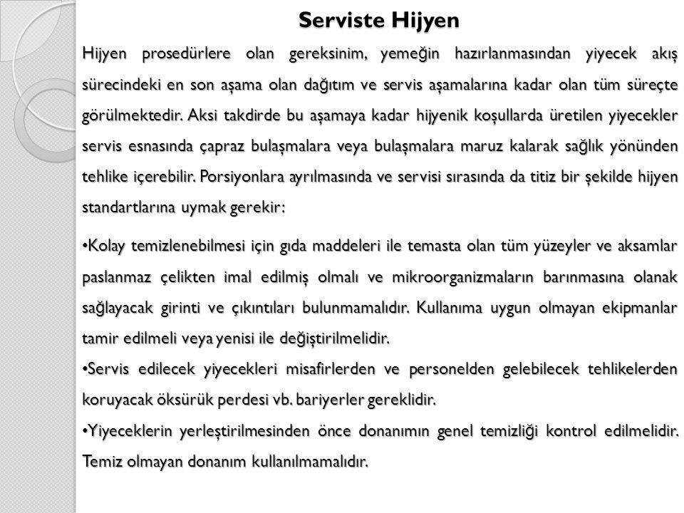 Serviste Hijyen