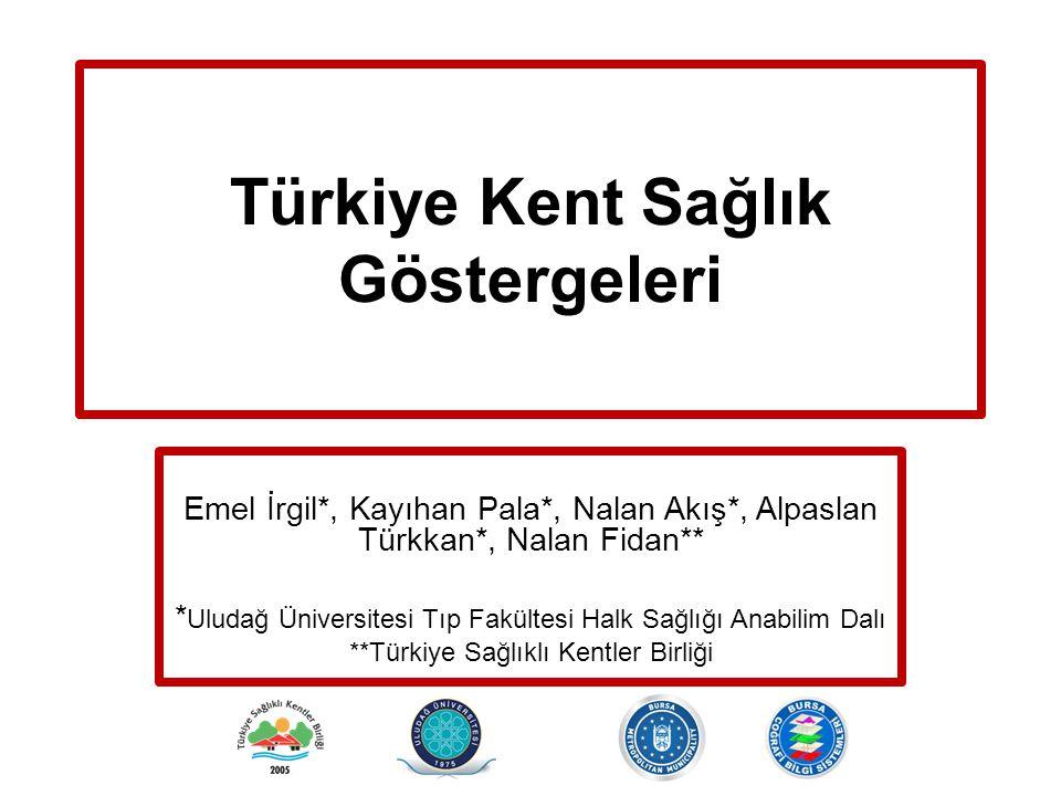 Türkiye Kent Sağlık Göstergeleri