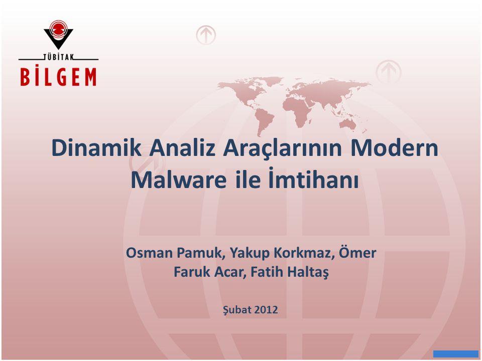 Dinamik Analiz Araçlarının Modern Malware ile İmtihanı