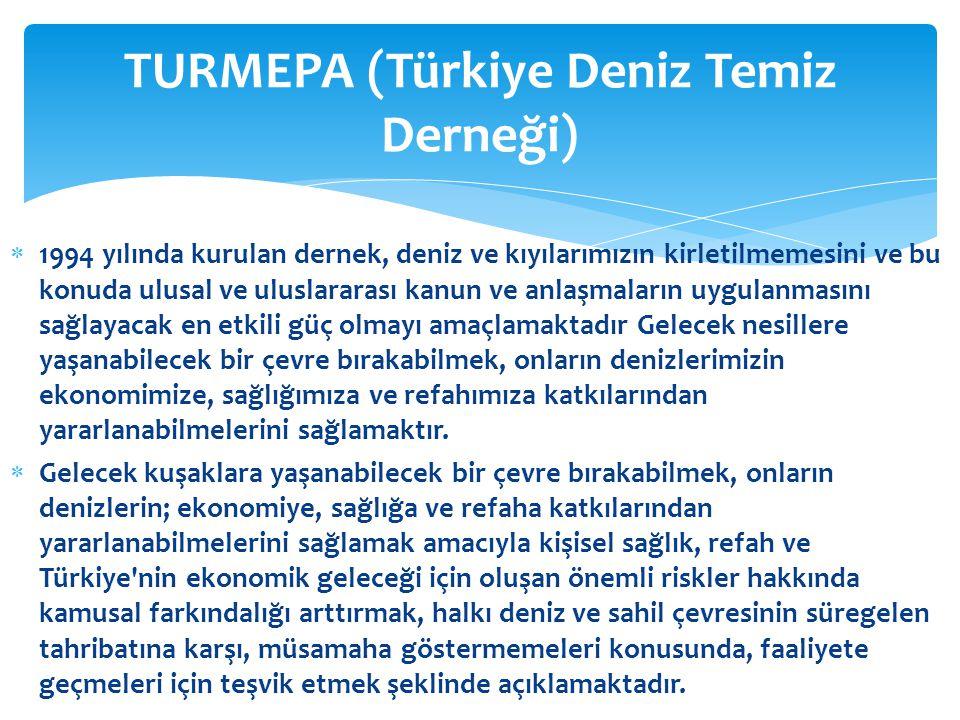 TURMEPA (Türkiye Deniz Temiz Derneği)
