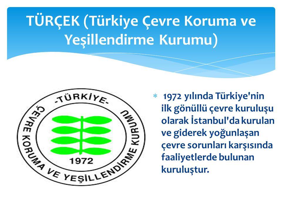 TÜRÇEK (Türkiye Çevre Koruma ve Yeşillendirme Kurumu)