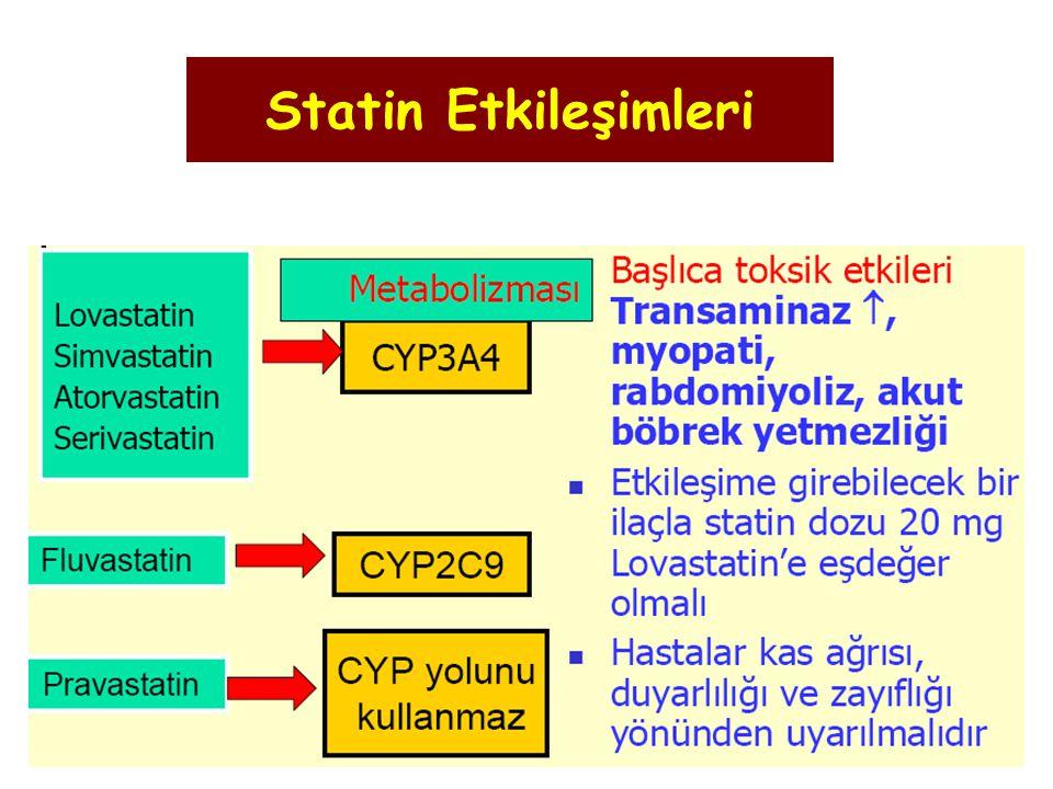 Statin Etkileşimleri