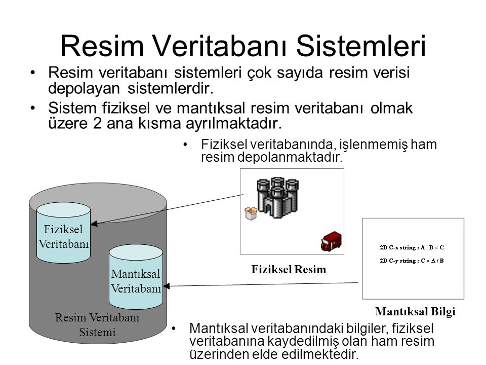 Resim Veritabanı Sistemleri