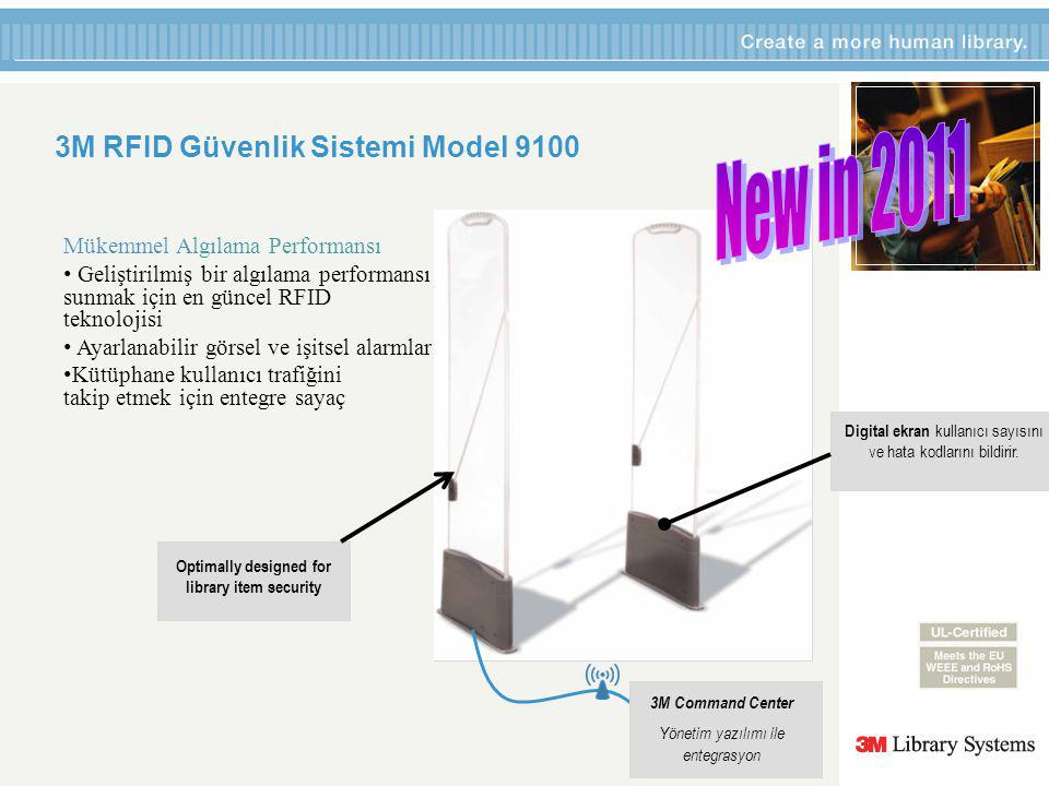 3M RFID Güvenlik Sistemi Model 9100