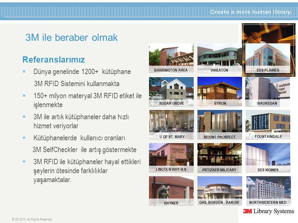 3M ile beraber olmak Referanslarımız Dünya genelinde 1200+ kütüphane