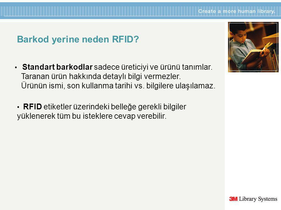 Barkod yerine neden RFID