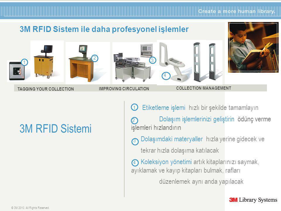 3M RFID Sistem ile daha profesyonel işlemler