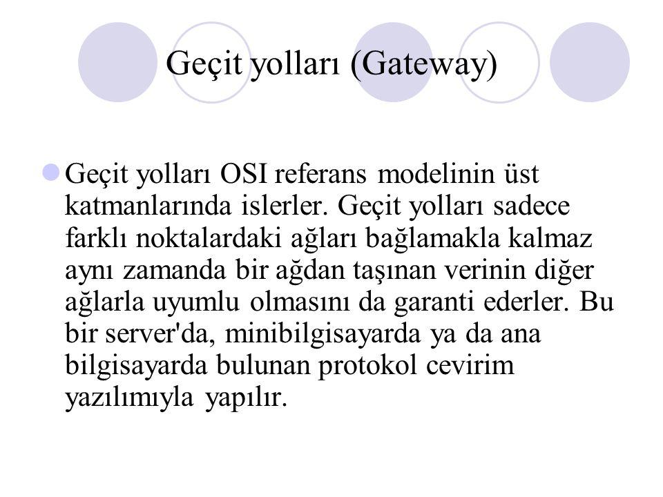 Geçit yolları (Gateway)