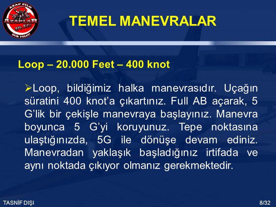 Loop – 20.000 Feet – 400 knot