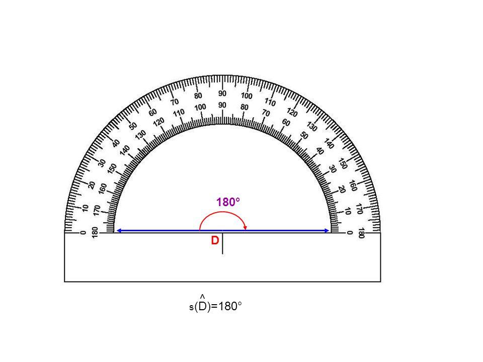 180° D s(D)=180° ^