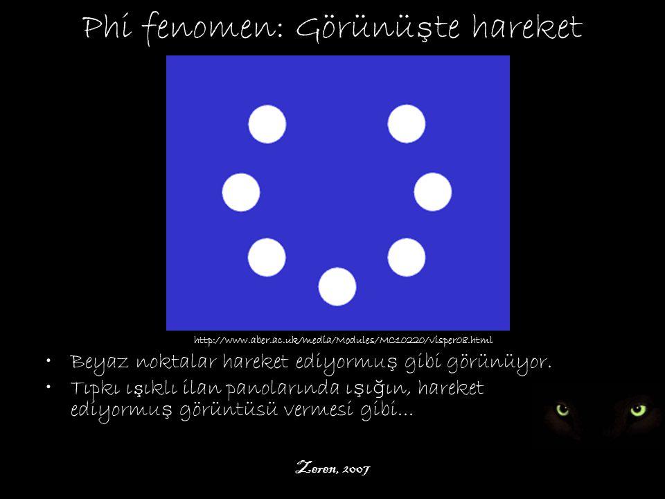 Phi fenomen: Görünüşte hareket