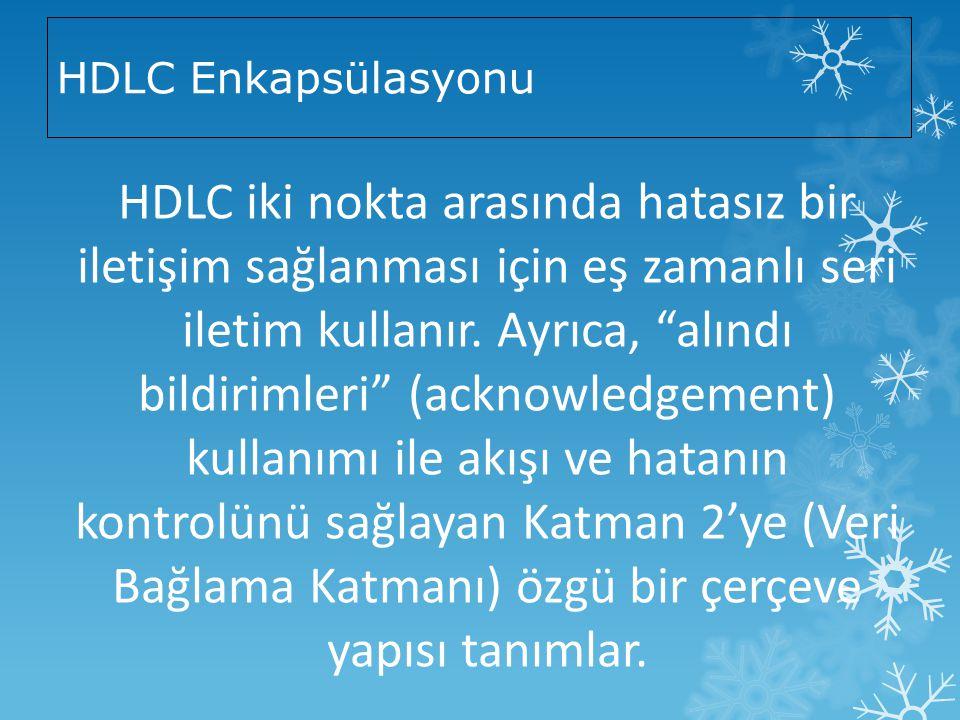 HDLC Enkapsülasyonu