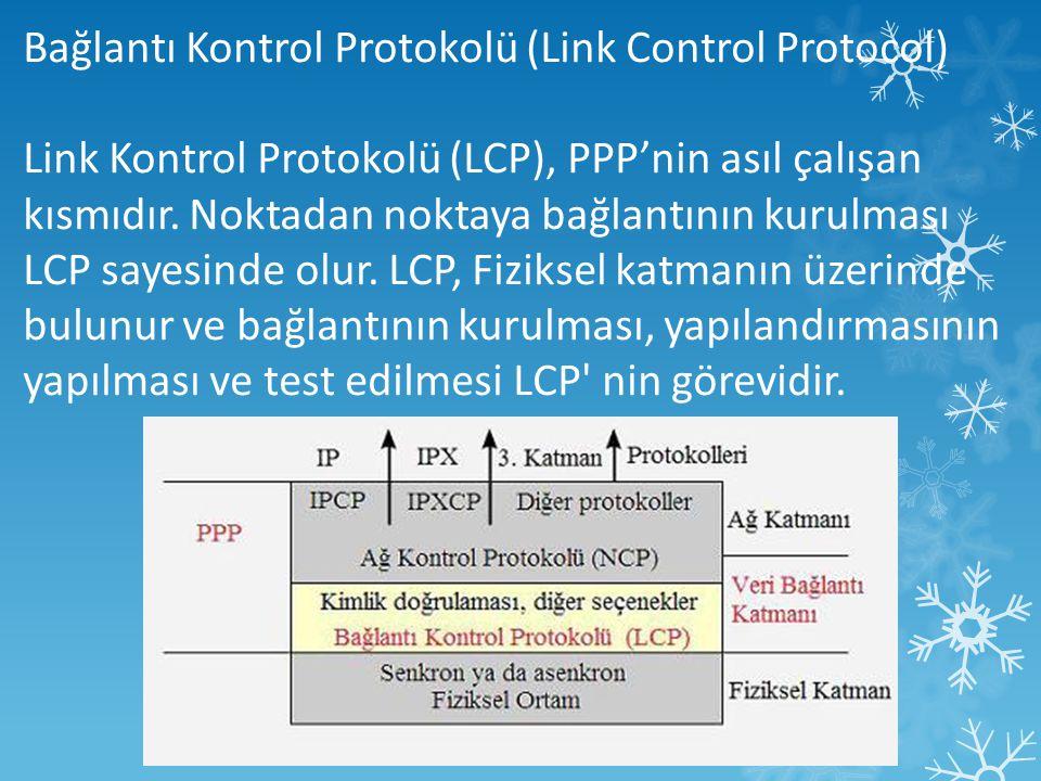 Bağlantı Kontrol Protokolü (Link Control Protocol)