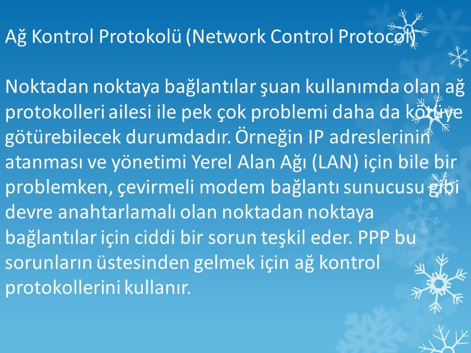 Ağ Kontrol Protokolü (Network Control Protocol)