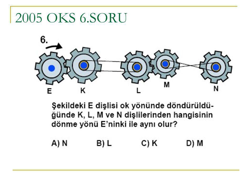2005 OKS 6.SORU