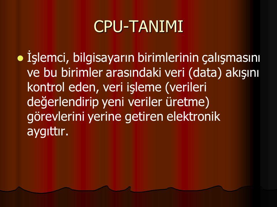 CPU-TANIMI