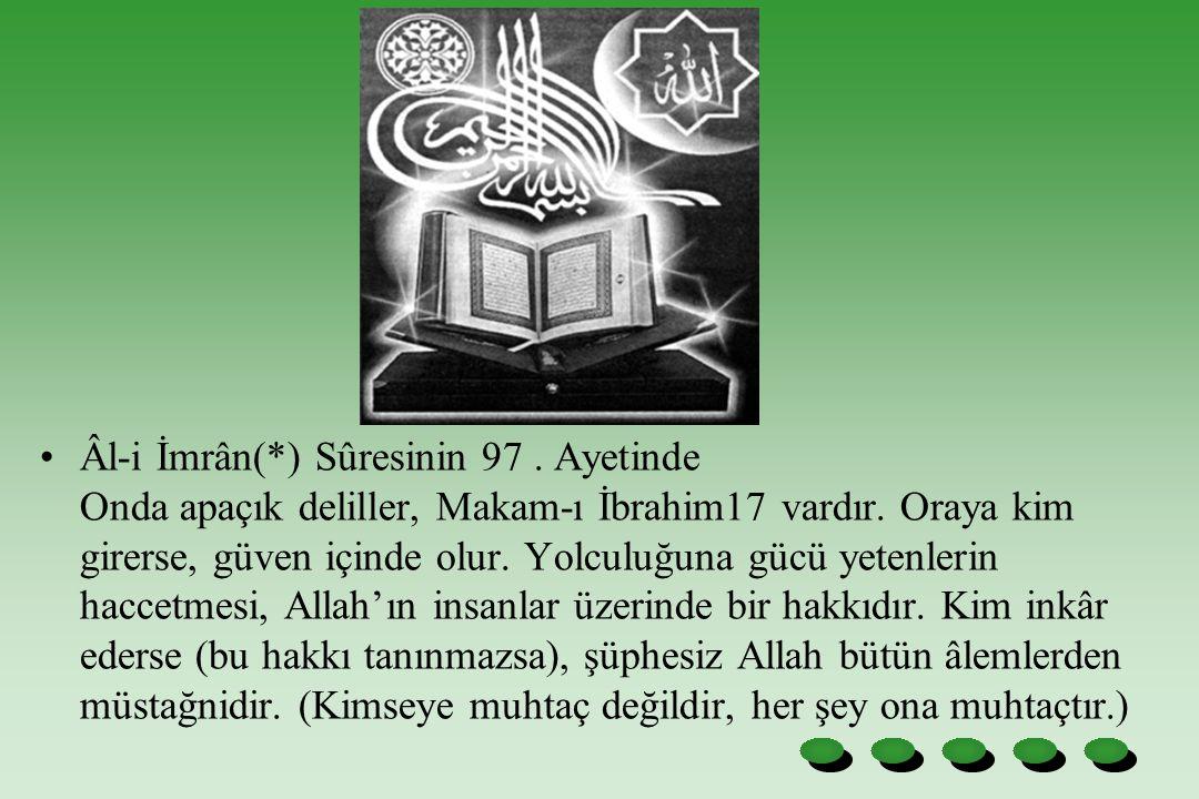 Âl-i İmrân(. ) Sûresinin 97