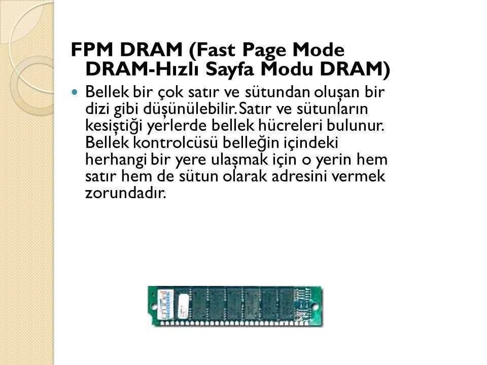 FPM DRAM (Fast Page Mode DRAM-Hızlı Sayfa Modu DRAM)