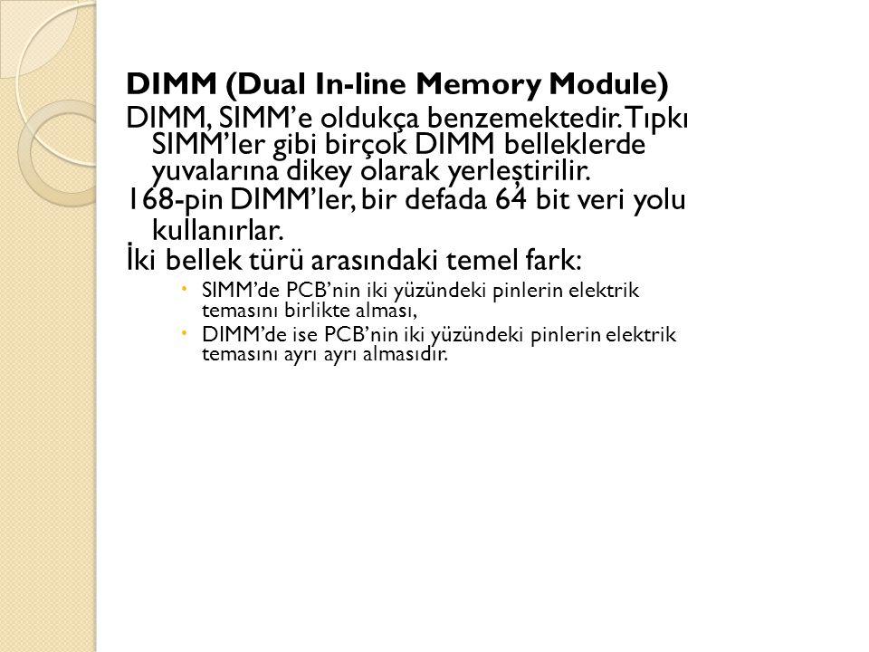 DIMM (Dual In-line Memory Module)