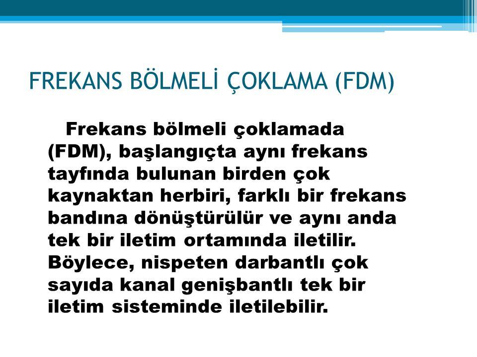 FREKANS BÖLMELİ ÇOKLAMA (FDM)