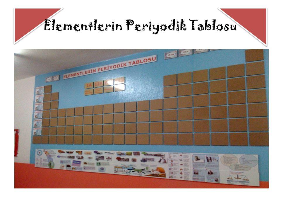 Elementlerin Periyodik Tablosu