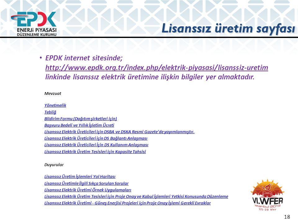 Lisanssız üretim sayfası