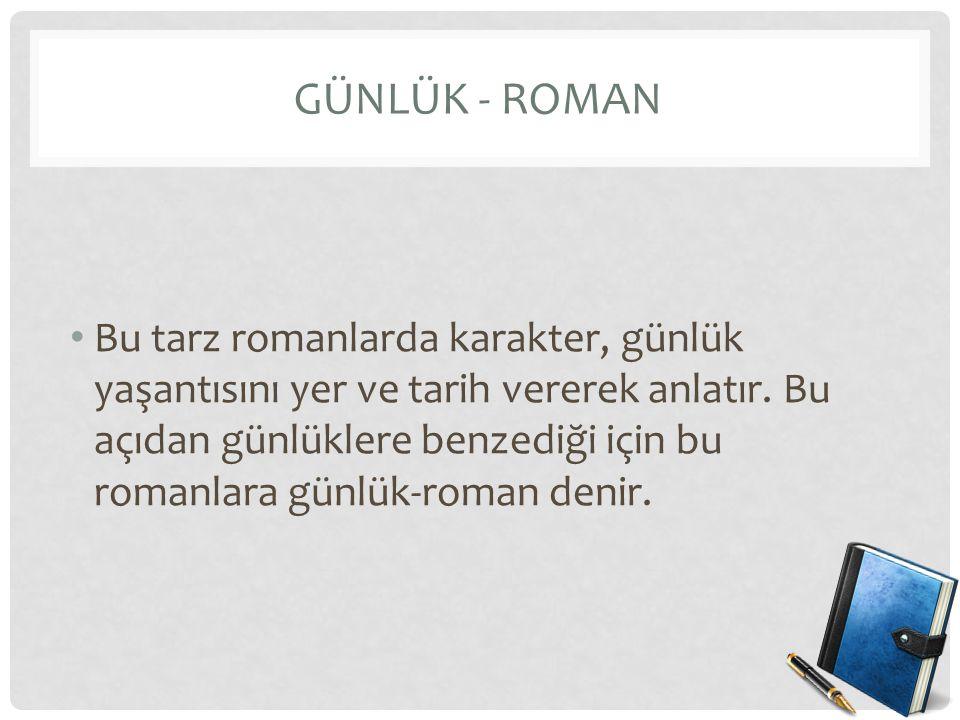 Günlük - Roman