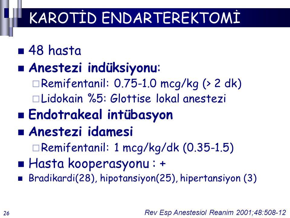 KAROTİD ENDARTEREKTOMİ