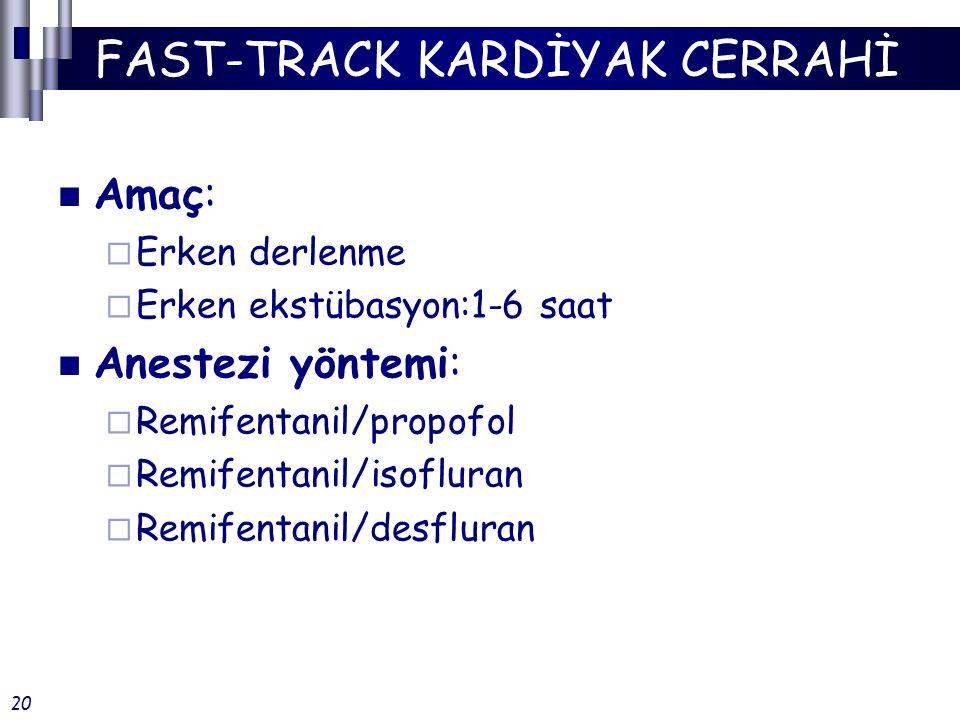 FAST-TRACK KARDİYAK CERRAHİ