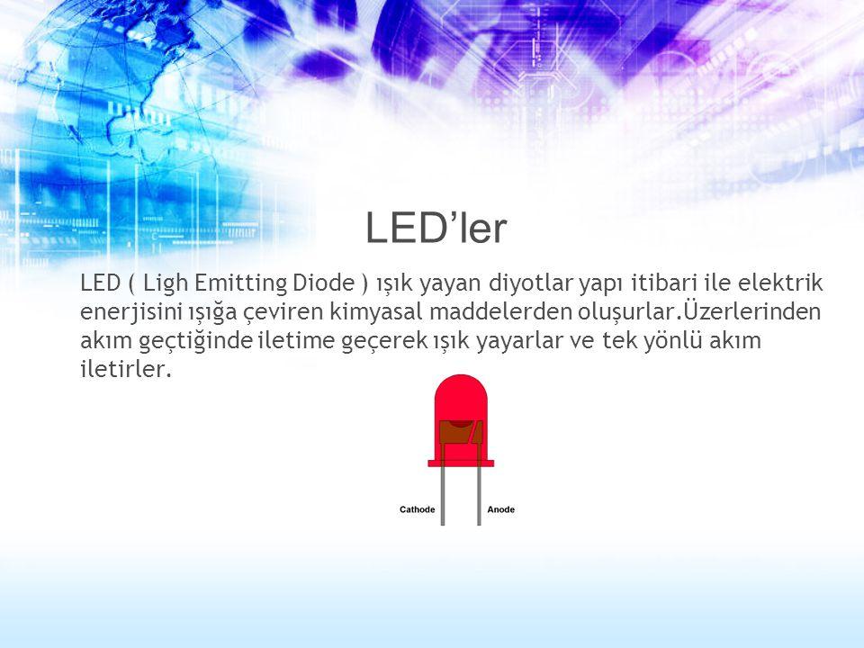 LED'ler