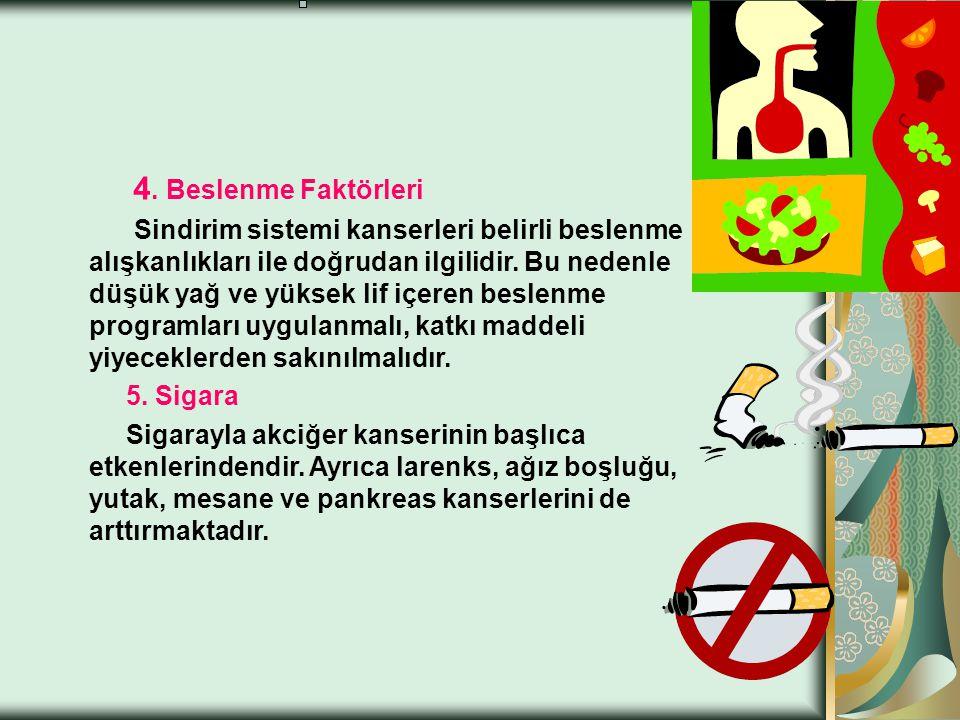 4. Beslenme Faktörleri