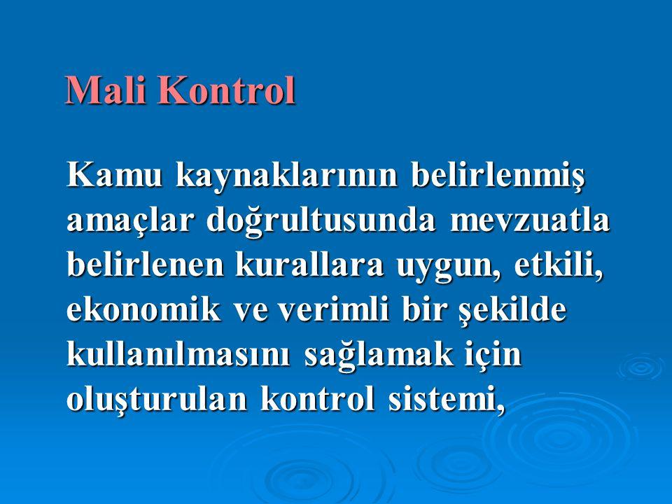 Mali Kontrol