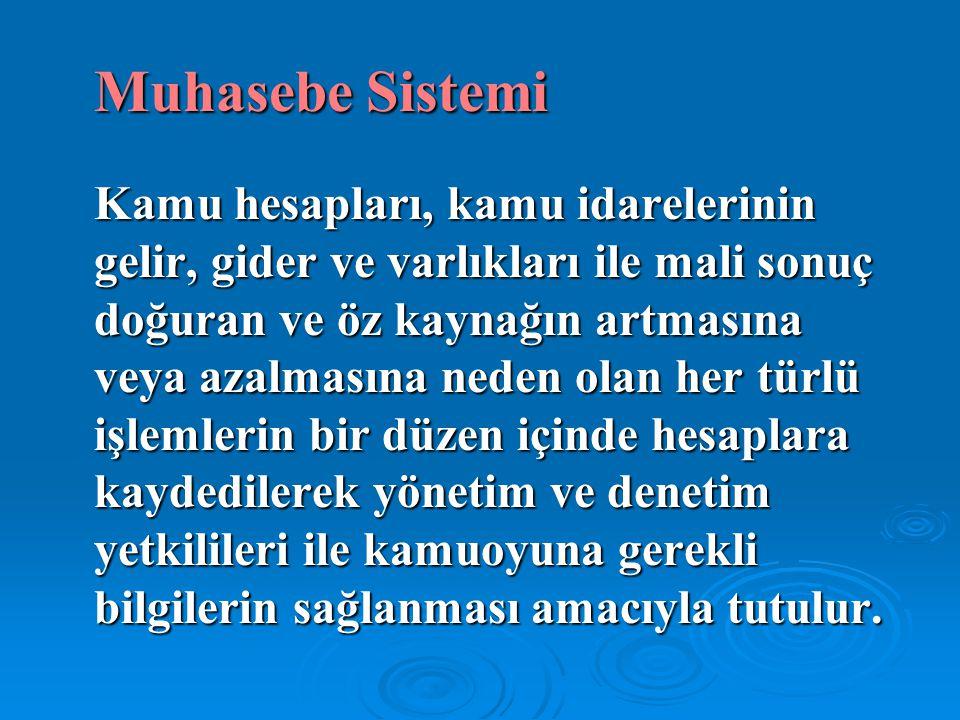 Muhasebe Sistemi