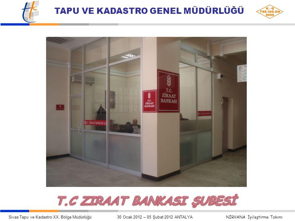 T.C ZIRAAT BANKASI ŞUBESİ