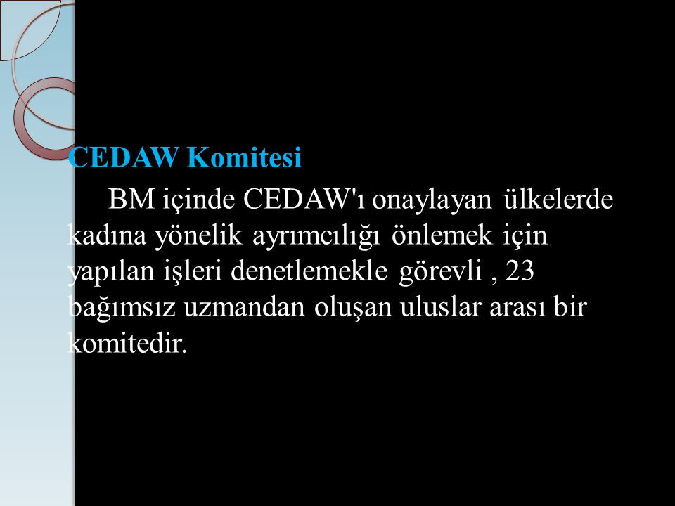 CEDAW Komitesi