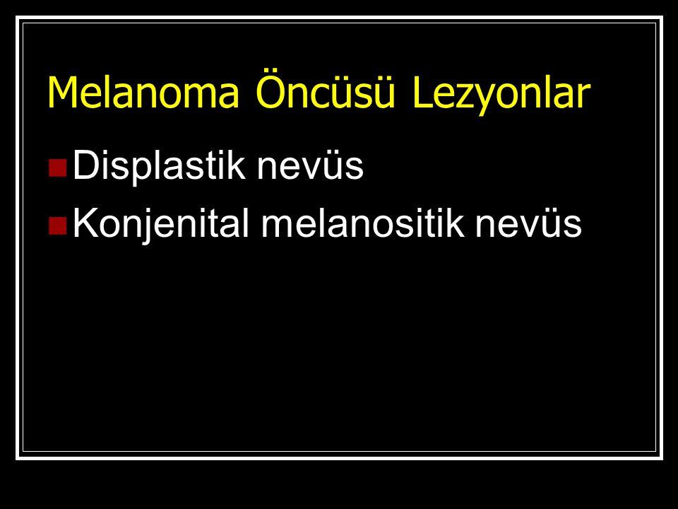 Melanoma Öncüsü Lezyonlar