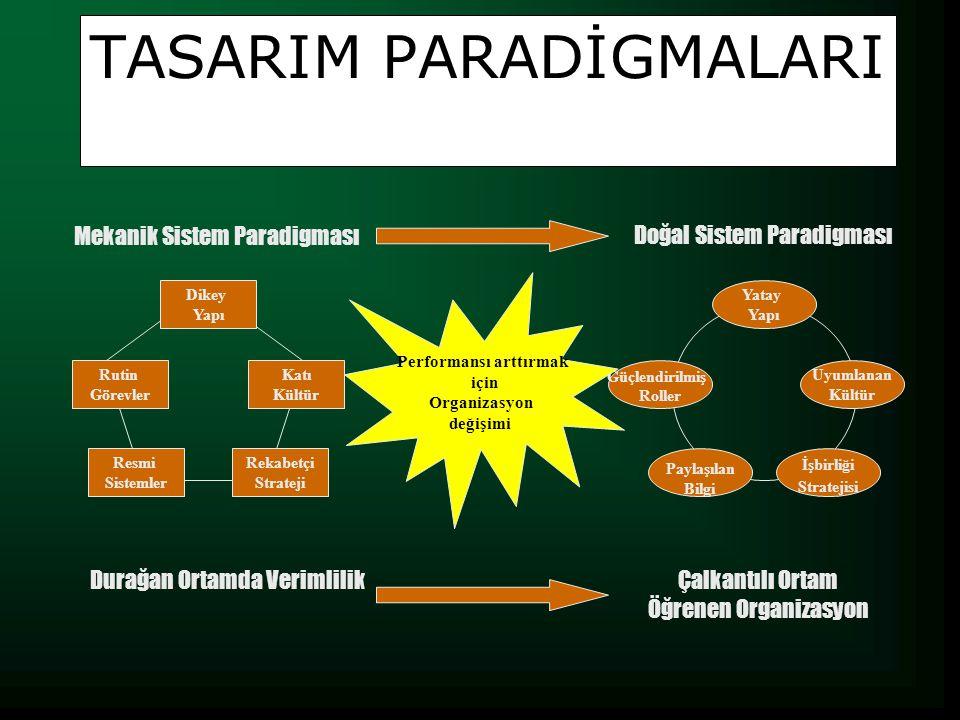 TASARIM PARADİGMALARI