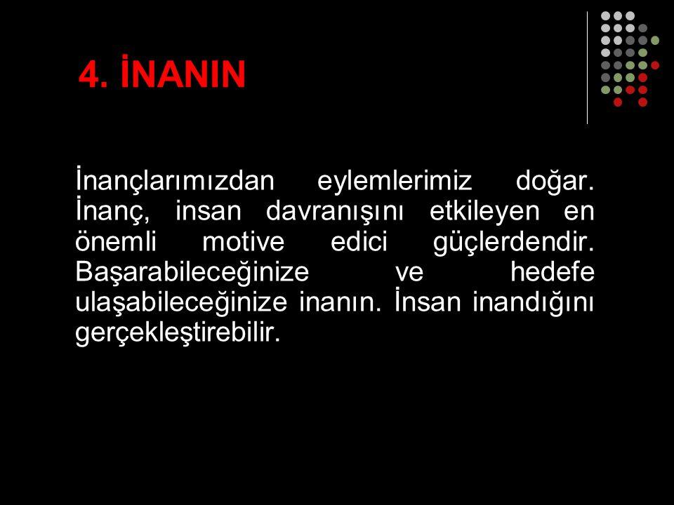 4. İNANIN