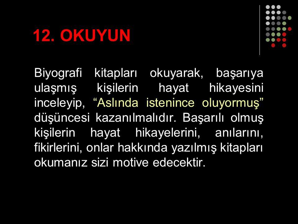 12. OKUYUN