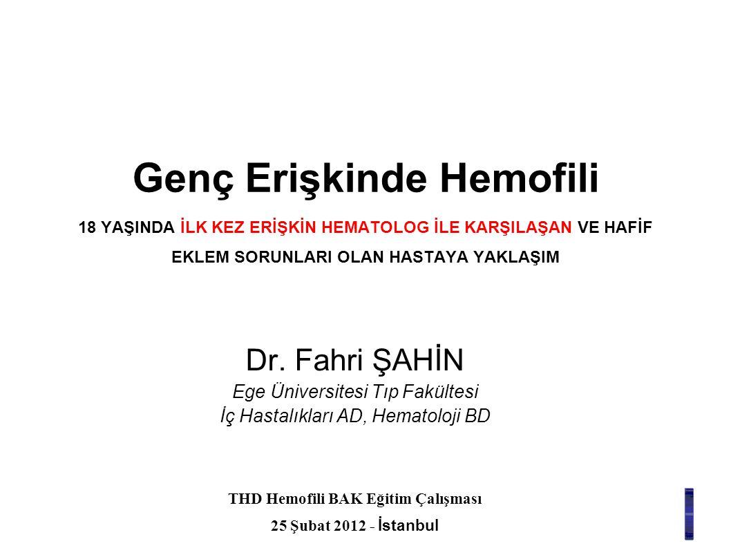 THD Hemofili BAK Eğitim Çalışması