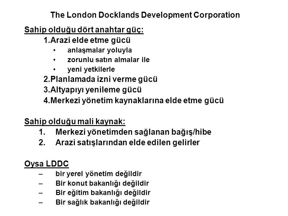 The London Docklands Development Corporation