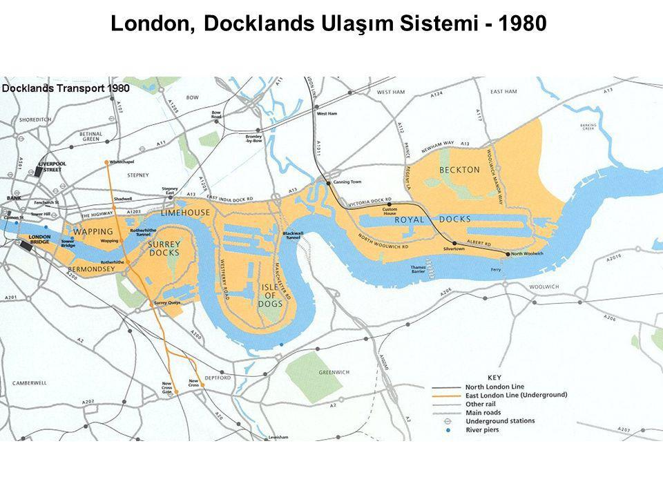 London, Docklands Ulaşım Sistemi - 1980