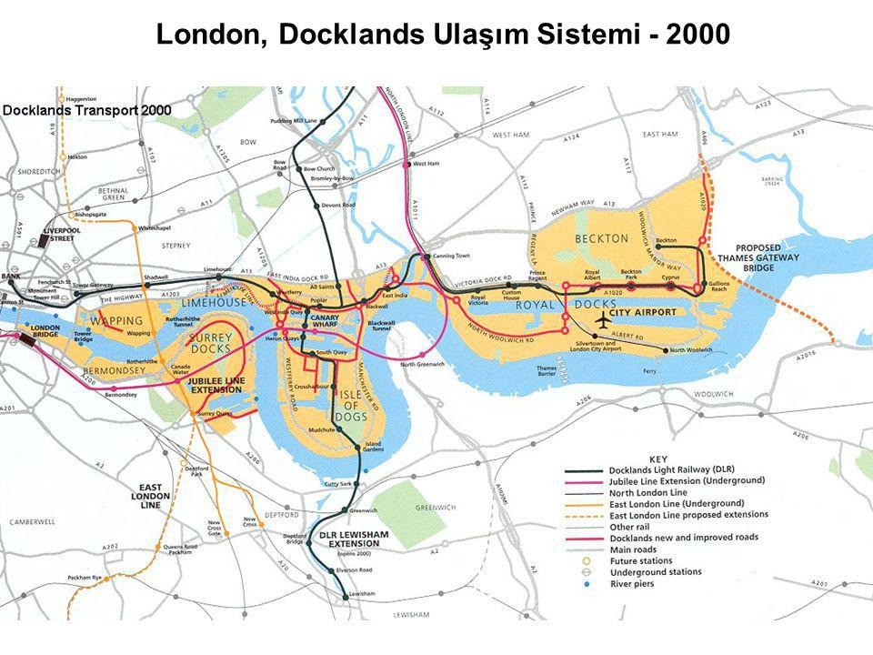 London, Docklands Ulaşım Sistemi - 2000