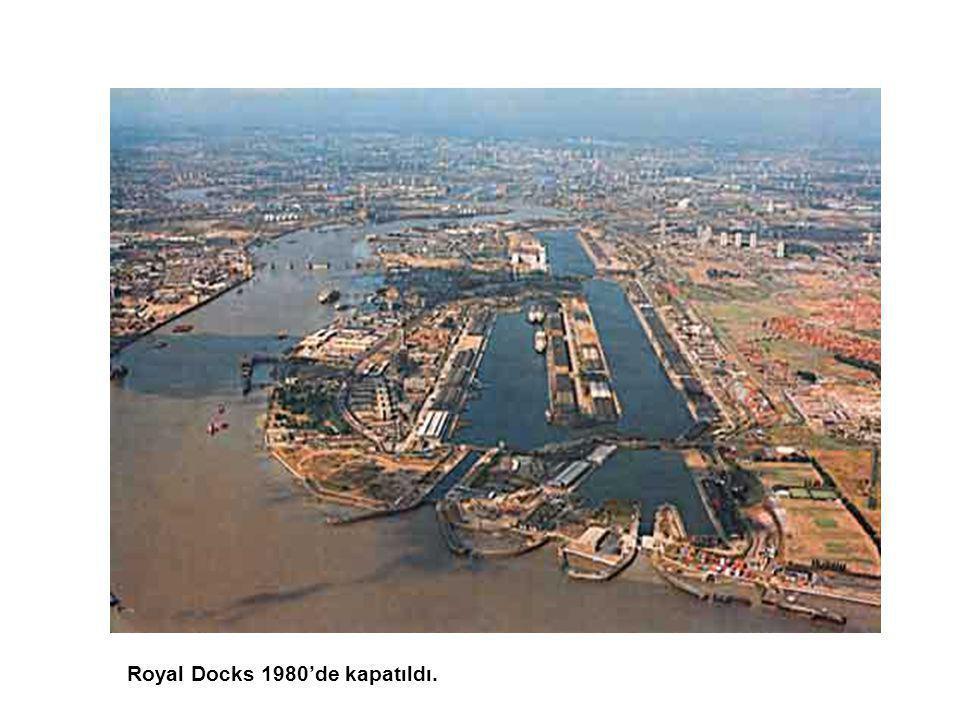 Royal Docks 1980'de kapatıldı.