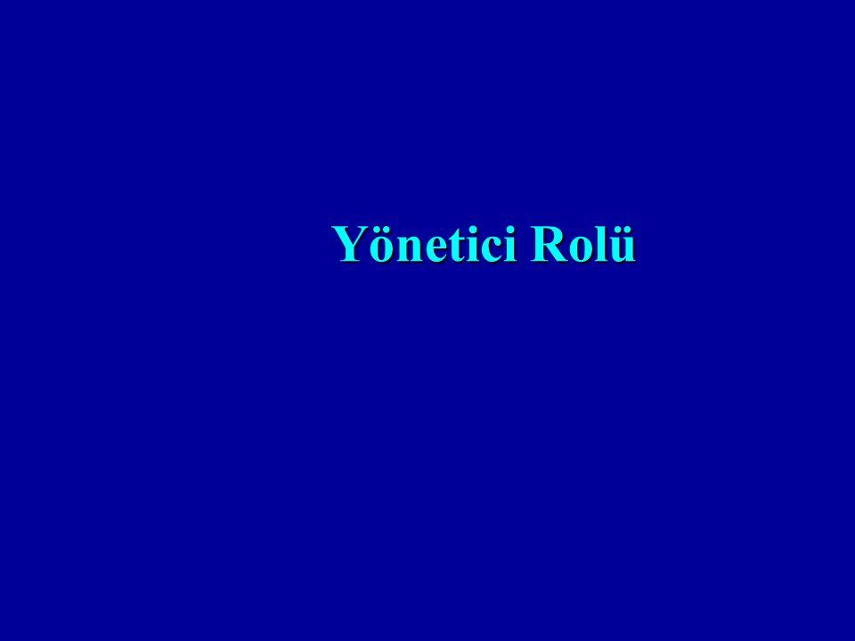 Yönetici Rolü