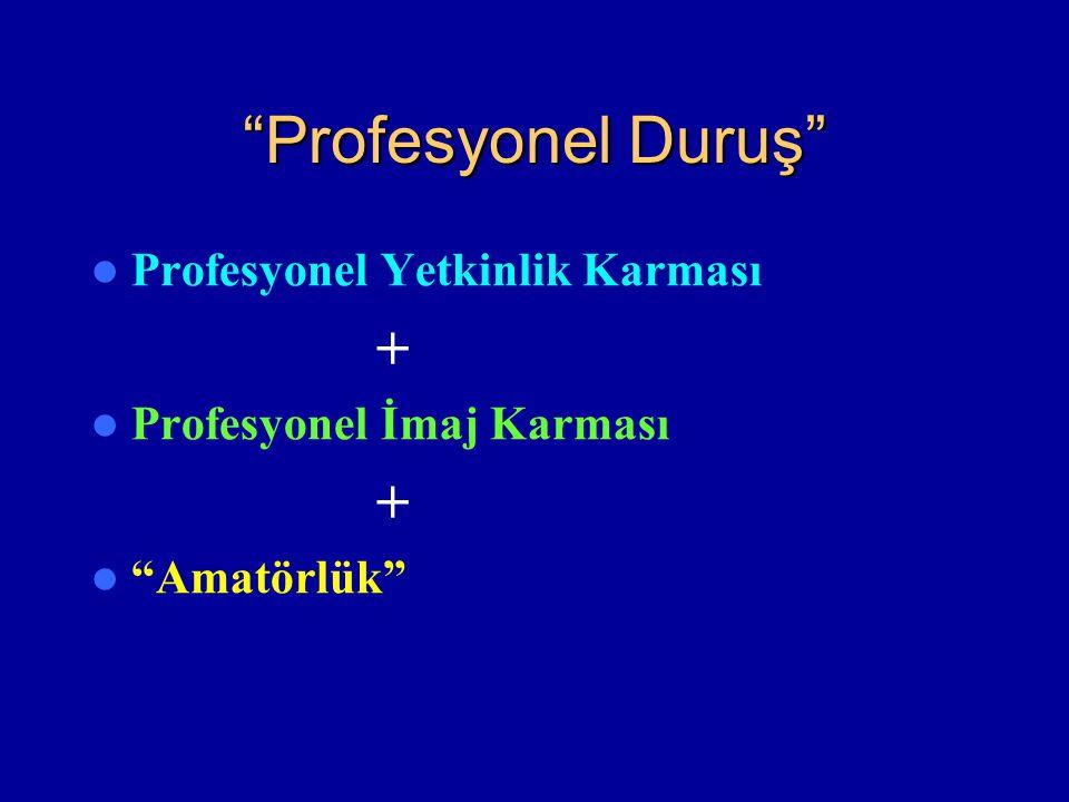 Profesyonel Duruş Profesyonel Yetkinlik Karması +